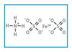 Железоаммонийные квасцы чда (сульфат железа (III)-аммония) фасовка 50 кг