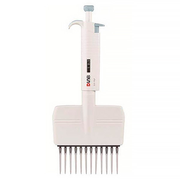 12-канальная механическая пипетка DLAB MicroPette  5-50 мкл