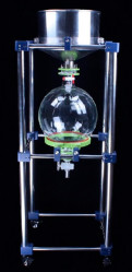 Вакуумный стеклянный нутч-фильтр ZF-50L (сталь SS 316)
