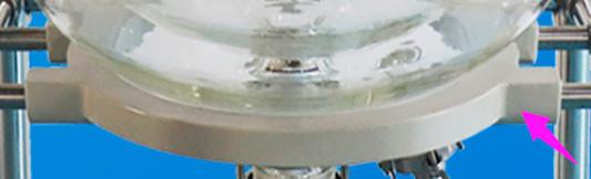 Алюминиевая опора для резервуара для реактора на 10 л