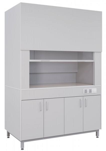 Вытяжной шкаф типовой ПГЛ-ЛК ВШ1, 900х800х2200