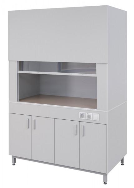 Вытяжной шкаф типовой ПГЛ-ЛК ВШ2, 1200х800х2200