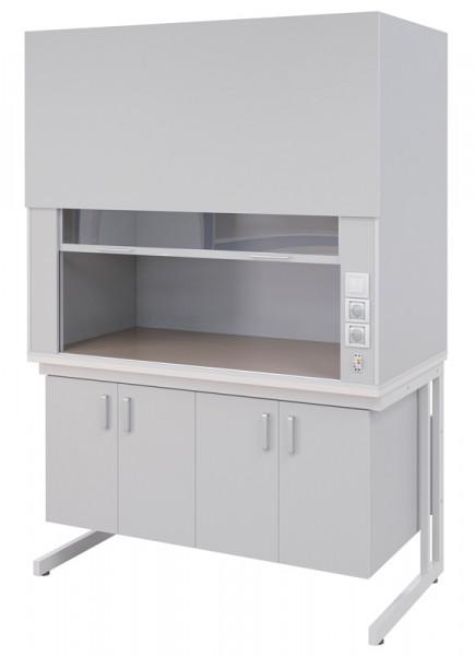 Вытяжной шкаф общелабораторный ПГЛ-ЛКМ ВШ2, 1200х800х2200