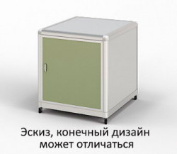 Тумба подкатная лабораторная ПГЛ-ЛМ ТП1, 500х575х690