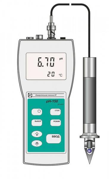 рН-метр рН-150, милливольтметр