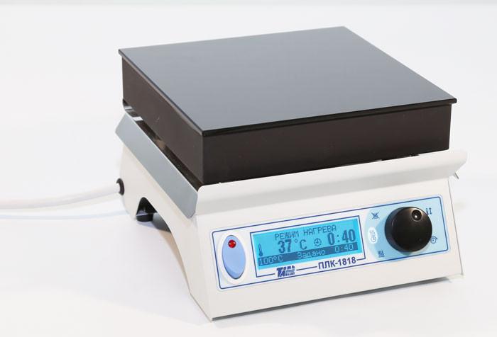 Плита нагревательная лабораторная со стеклокерамической поверхностью ПЛК-1818