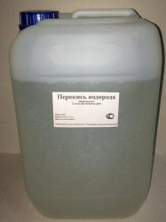 Перекись водорода медицинская 37%, 11 кг