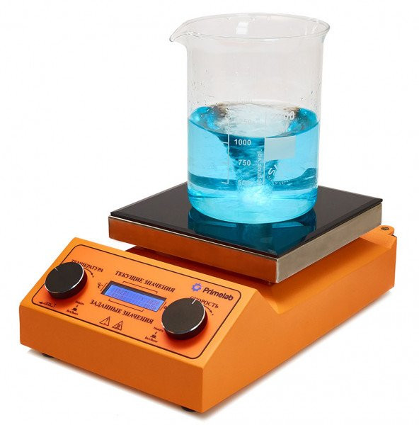 Магнитная мешалка с подогревом Primelab PL-R-basic-H, 10 литров
