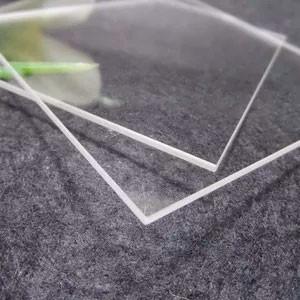 Кварцевая пластина 50х80х4 мм