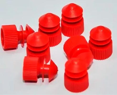 Изделие д/укупорки и герметизации: пробка диам.16 мм, красные, п/эт, уп.1000/10 тыс. шт,  Aptaca