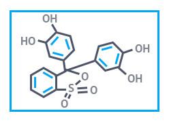 Пирокатехиновый фиолетовый чда (ПКФ, пирокатехинсульфофталеин), фасовка 0,020 кг