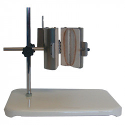 Трубчатая раздельная печь на штативе RSD 20x100/100