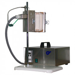 Трубчатая раздельная печь на штативе RSD 30X100/100