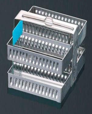 Штатив-рамка из нержавеющей стали, для 60 стёкол