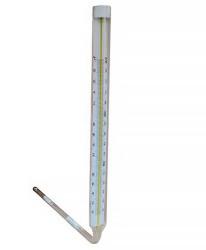 Термометр ТТУ №9 (0...+400) в. ч. 240, н. ч. 291, с. д. 5, технический ртутный угловой