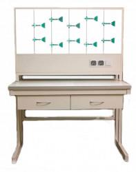 Титровальная надставка для лабораторного стола ПГЛ-ЛКМ НТ, 900х240х800