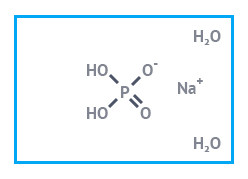 """Натрий фосфорнокислый 1-замещенный 2-водный """"чда"""" (натрий дигидроортофосфат дигидрат), фасовка 25 кг"""