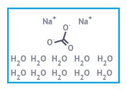 Натрий углекислый 10-водный хч (натрий карбонат 10-водный,натрий карбонат декагидрат) фас. 1 кг