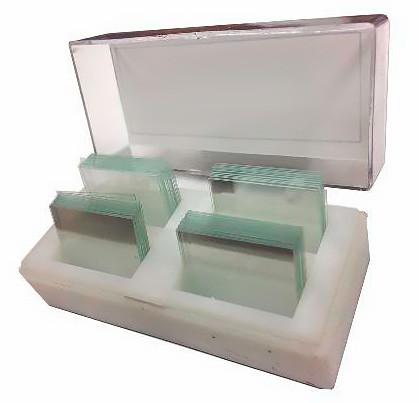 Стекло для микропрепаратов покровное, 24х55, уп. 500 шт