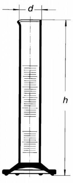 Цилиндр высокий, класс 2, 2000 мл