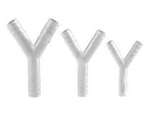 Переходник Y-образный, нар. диаметр 8 мм