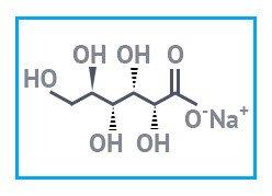 Натрий глюконовокислый имп. (натрий глюконат), фасовка  25 кг
