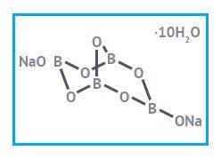 Натрий тетраборнокислый, 10-водн имп.
