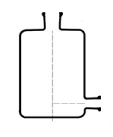 Бутыль Вульфа, 500 мл, с краном
