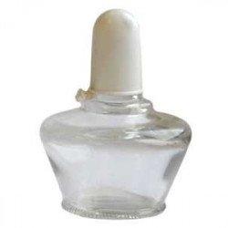 Спиртовка  СЛ-1 (стекл.) , фарфор. вставка,  пласт. пробка,  150 мл