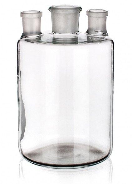 Бутыль Вульфа с 3 горловинами, 500 мл