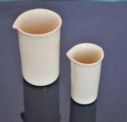 Фарфоровый химический стакан 75/120 мм/400 мл №5