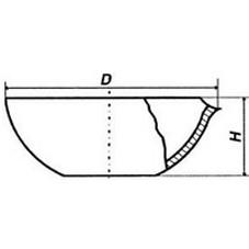 Чаша кварцевая 160 мл