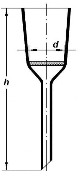 Воронка Шотта, S1/60*195