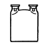 Склянка С2Г-1-0,5