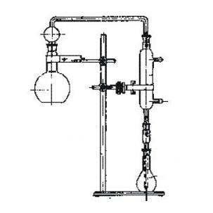 Комплект стекл. к прибору д/опр. фенола в воде (1000 мл)