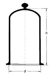 Колпак для банок, 200х200 мм