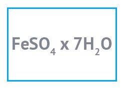 Железо (II) сернокислое 7-вод техническое фасовка 1 кг