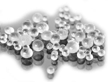 Бусы-шарики стекл. d-5 мм (уп. 1 кг)