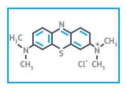Метиленовый синий чда (метиленовый голубой) упаковка 0,1 кг