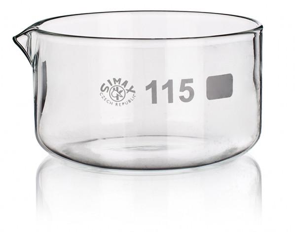 Чашка кристаллизационная, 650 мл, с носиком