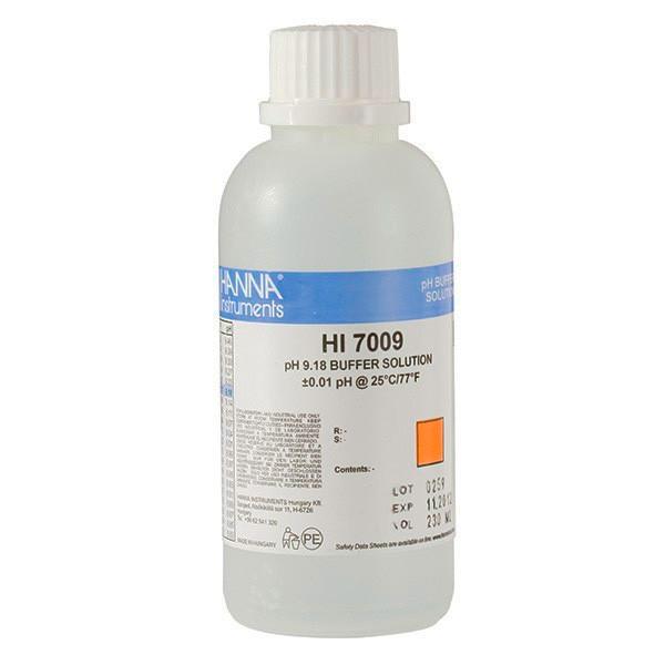 Буферный раствор HI 7009 Hanna рН-9,18., 500мл