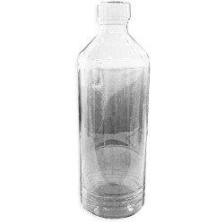 Бутылка из светлого стекла, с пластмассовой крышкой, 500 мл