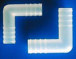 Переходник Г-образный 4 мм, полипропиленовый, Kartell