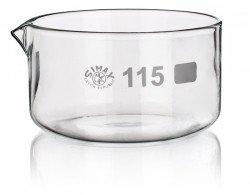 Чашка кристаллизационная, 60 мм, с носиком