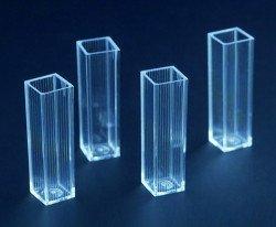 Кювета спектрофотометрическая 2,5 мл, асептическая