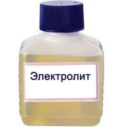 Электролит калиево-литиевый щелочной плотностью 1,27