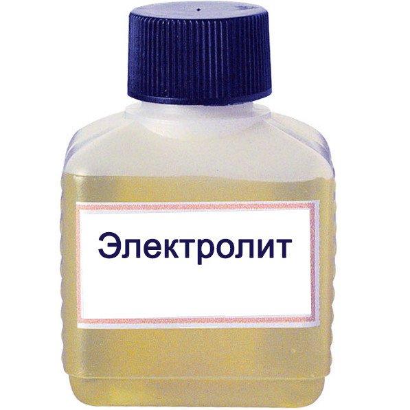 Электролит калиево-литиевый 1,21 канистра 24,20 литра