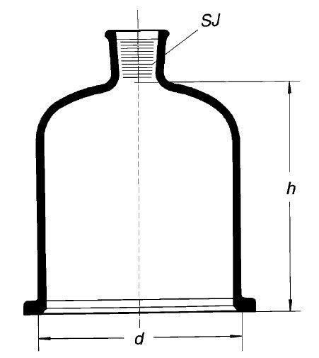 Колпак с краном, 300х300 мм, шлиф 34/35