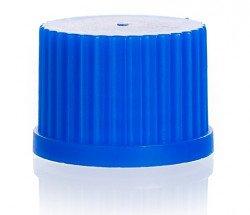 Винтовая крышка, синяя, GL 45, упаковка 10 шт.