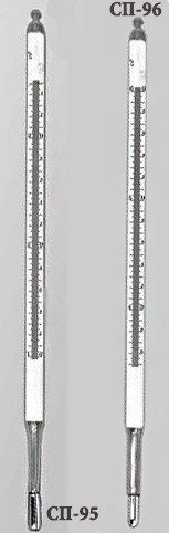 Термометр для измерения температуры разных сред в лабораторных условиях СП-96